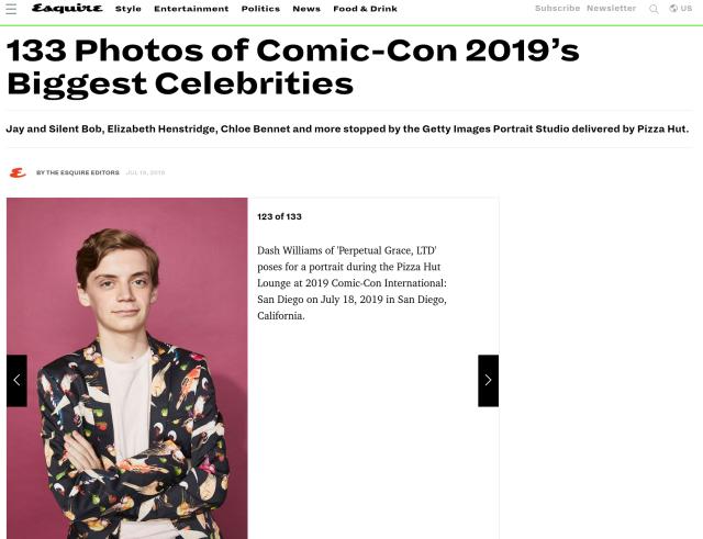 Dash at Comic-Con